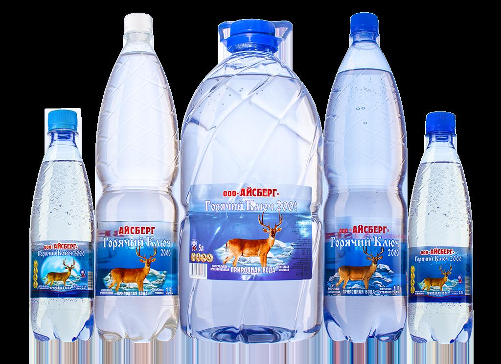 Минеральная вода Горячий Ключ 2000 - ООО Айсберг