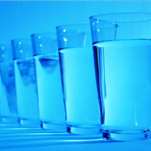 Правила приема и хранения воды